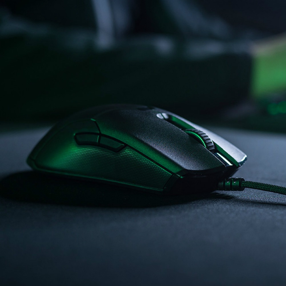 wired-mouse Razer Viper Gaming Mouse 8 Programmable Buttons Ultralight Ambidextrous 16000 DPI - Black Razer Viper Wired Gaming Mouse 1