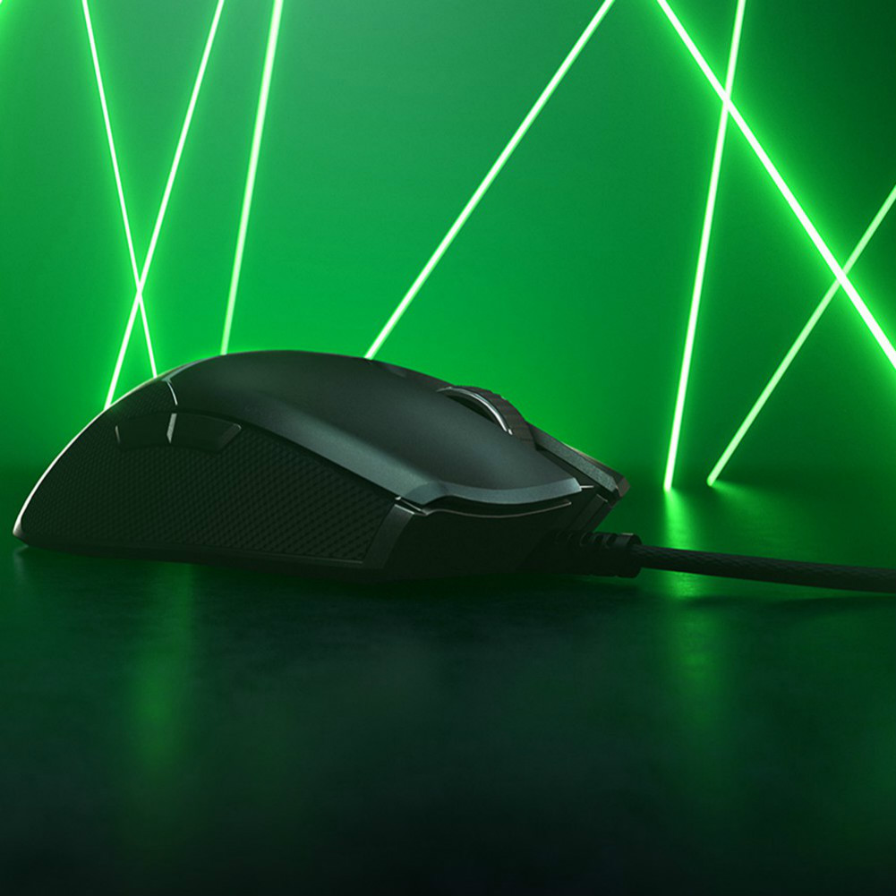 wired-mouse Razer Viper Gaming Mouse 8 Programmable Buttons Ultralight Ambidextrous 16000 DPI - Black Razer Viper Wired Gaming Mouse 3