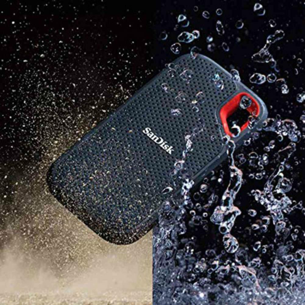 storage SanDisk E60 1TB SSD Read Speed 550MB/s USB-C USB3.1 Portable External Solid State Drive-Black sandisk e60 1tb portable external ssd 4
