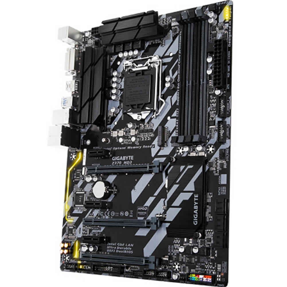 -Best Seller-GIGABYTE Z370 HD3 Gaming Motherboard 1
