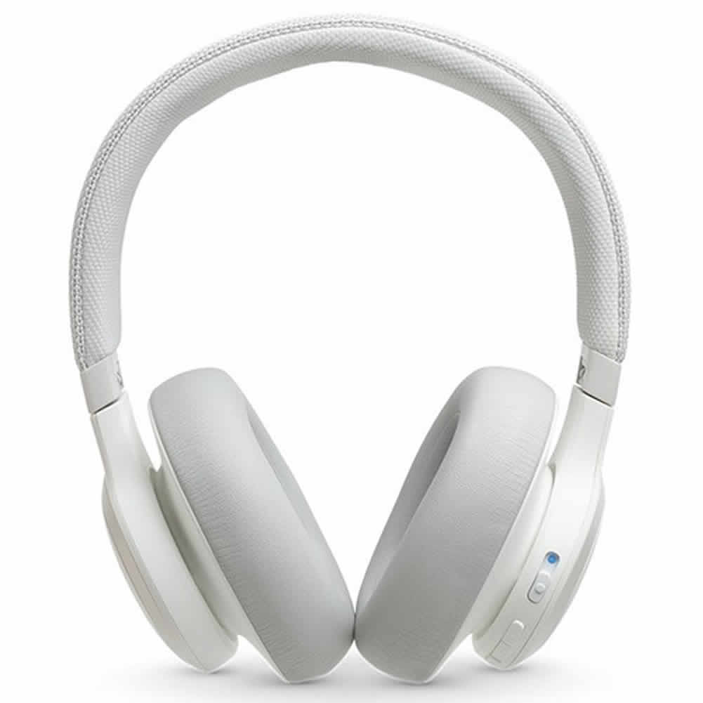 on-ear-over-ear-headphones JBL LIVE 650BTNC Wireless Noise Cancelling Over-ear Headphones  Smart Voice AI Active-White jbl live 650btnc wireless bluetooth headphones 1