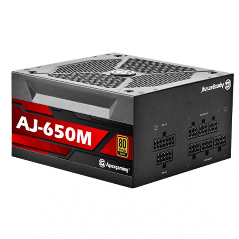 -Best Seller-Apexgaming AJ 650M 650W Power Supply