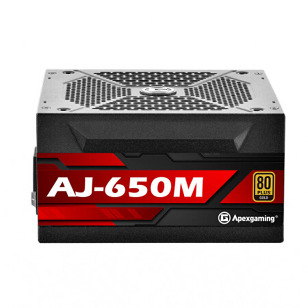 -Best Seller-Apexgaming AJ 650M 650W Power Supply 1