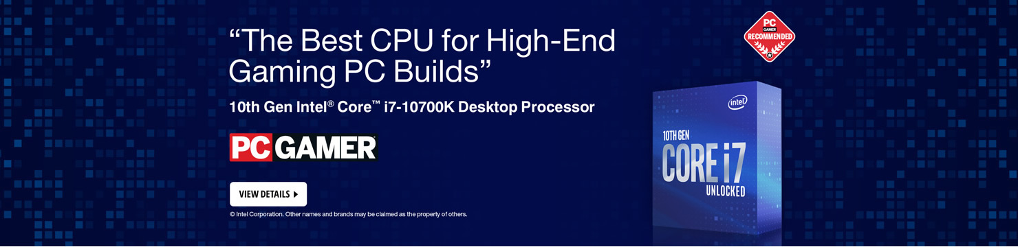 10th GEN Intel i7-10700K 8-Core 16-Thread Boxed CPU Desktop Processor