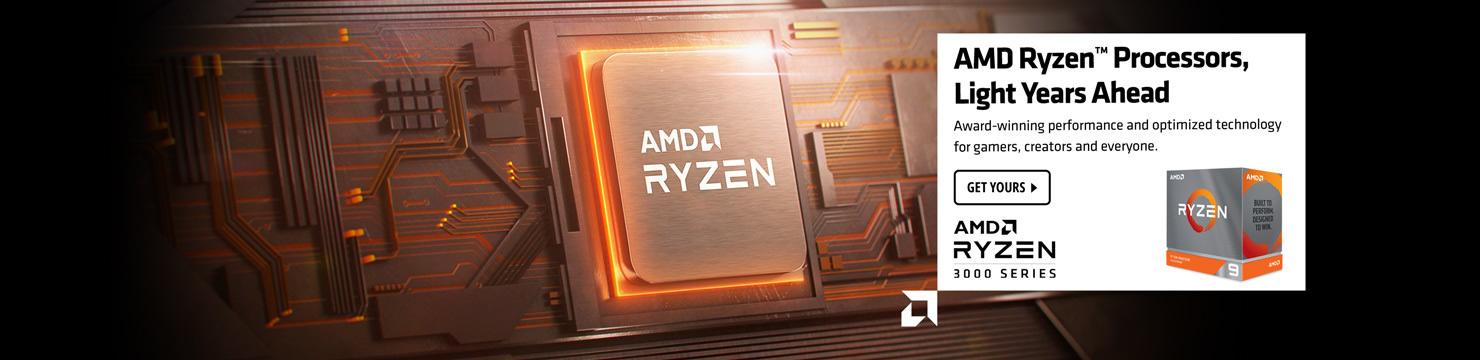 AMD Ryzen Processors Light Years Ahead 3000 Series