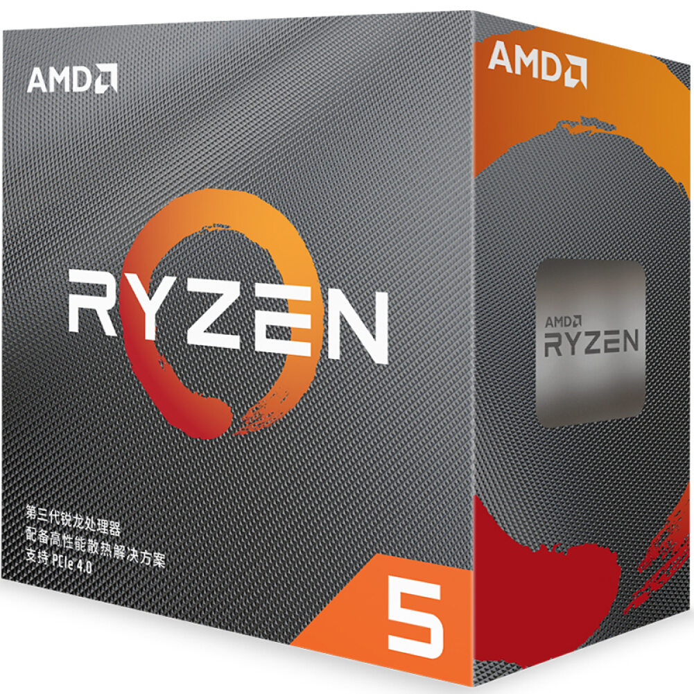 cpus-processors AMD Ryzen 5 3600 Desktop Processor (r5)7nm 6-Core 12-Thread 3.6GHz 65W AM4 Socket Boxed CPU SKU 100006445340 4 1