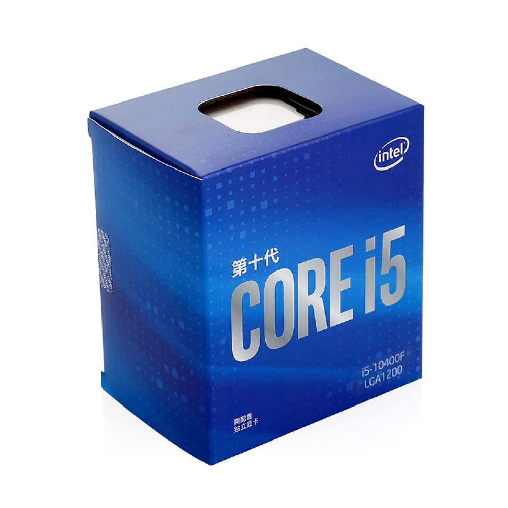 cpus-processors Intel i5-10400F 6-Core 12-Thread Boxed CPU Desktop Processor SKU 100006897507 3 1