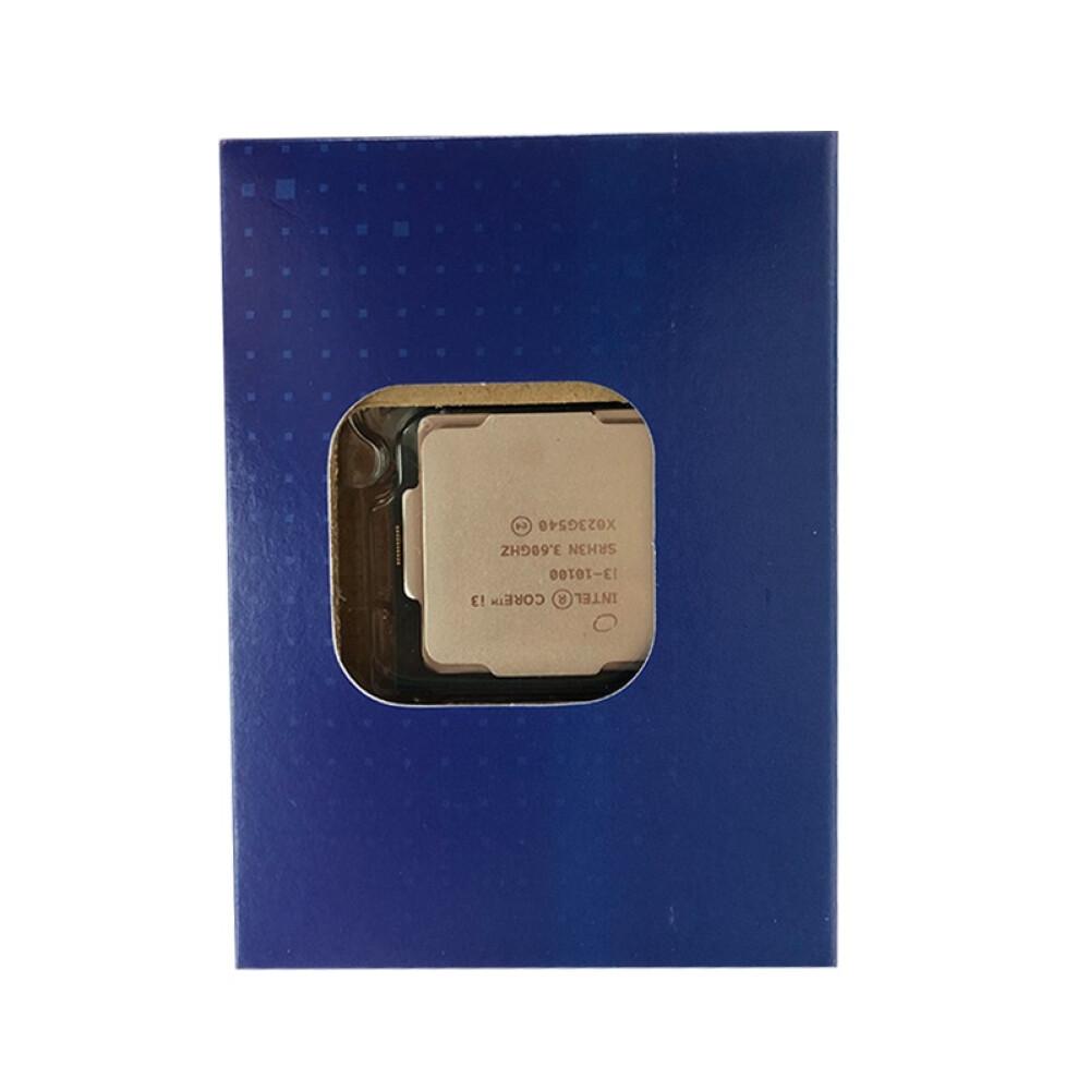 cpus-processors Intel i3-10100 4-Core 8-Thread Boxed CPU Desktop Processor SKU 100006936627 4 1