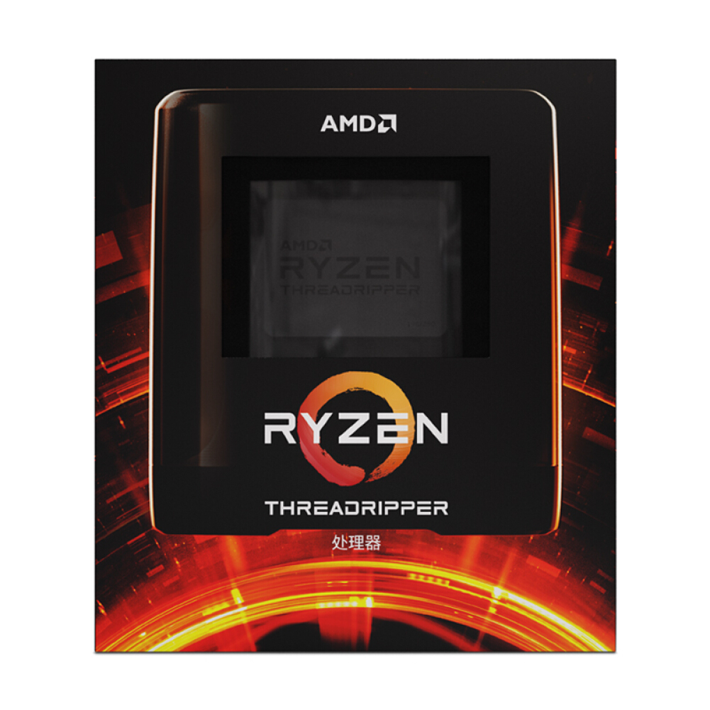 cpus-processors AMD Ryzen Threadripper 3970X Desktop Processor (tr)7nm 32-Core 64-Thread 3.7GHz 280W sTRX4 Socket Boxed CPU SKU 100010266524 1 1