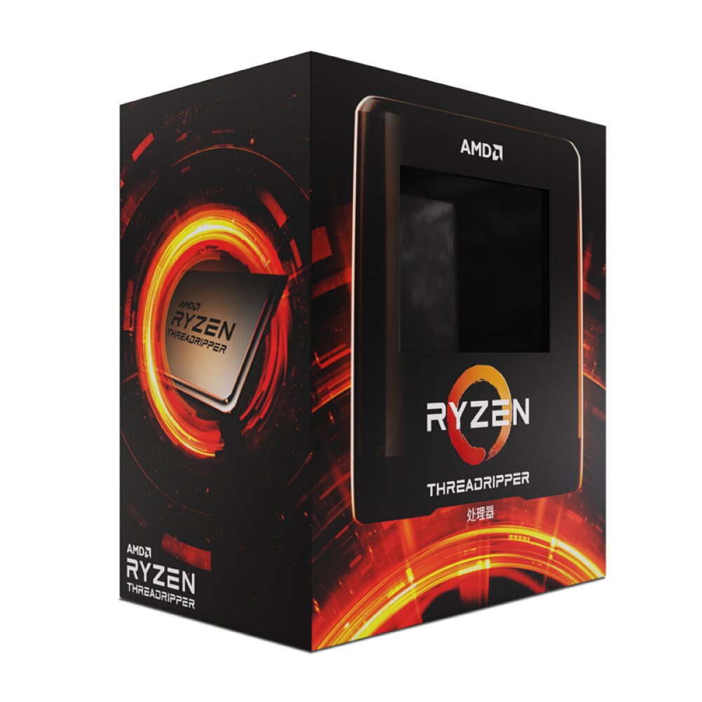 cpus-processors AMD Ryzen Threadripper 3970X Desktop Processor (tr)7nm 32-Core 64-Thread 3.7GHz 280W sTRX4 Socket Boxed CPU SKU 100010266524 2 1