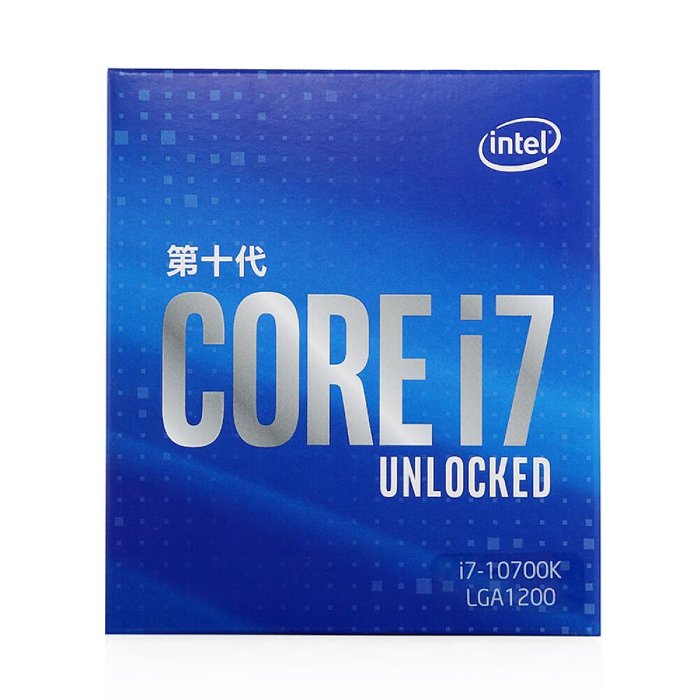 cpus-processors Intel i7-10700K 8-Core 16-Thread Boxed CPU Desktop Processor SKU 100011978522 1