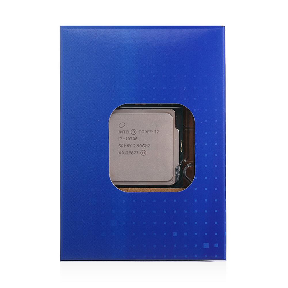 cpus-processors Intel i7-10700 8-Core 16-Thread Boxed CPU Desktop Processor SKU 100011978542 5 1