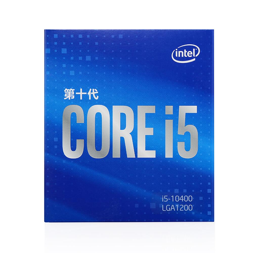 cpus-processors Intel i5-10400 6-Core 12-Thread Boxed CPU Desktop Processor SKU 100012590222 1