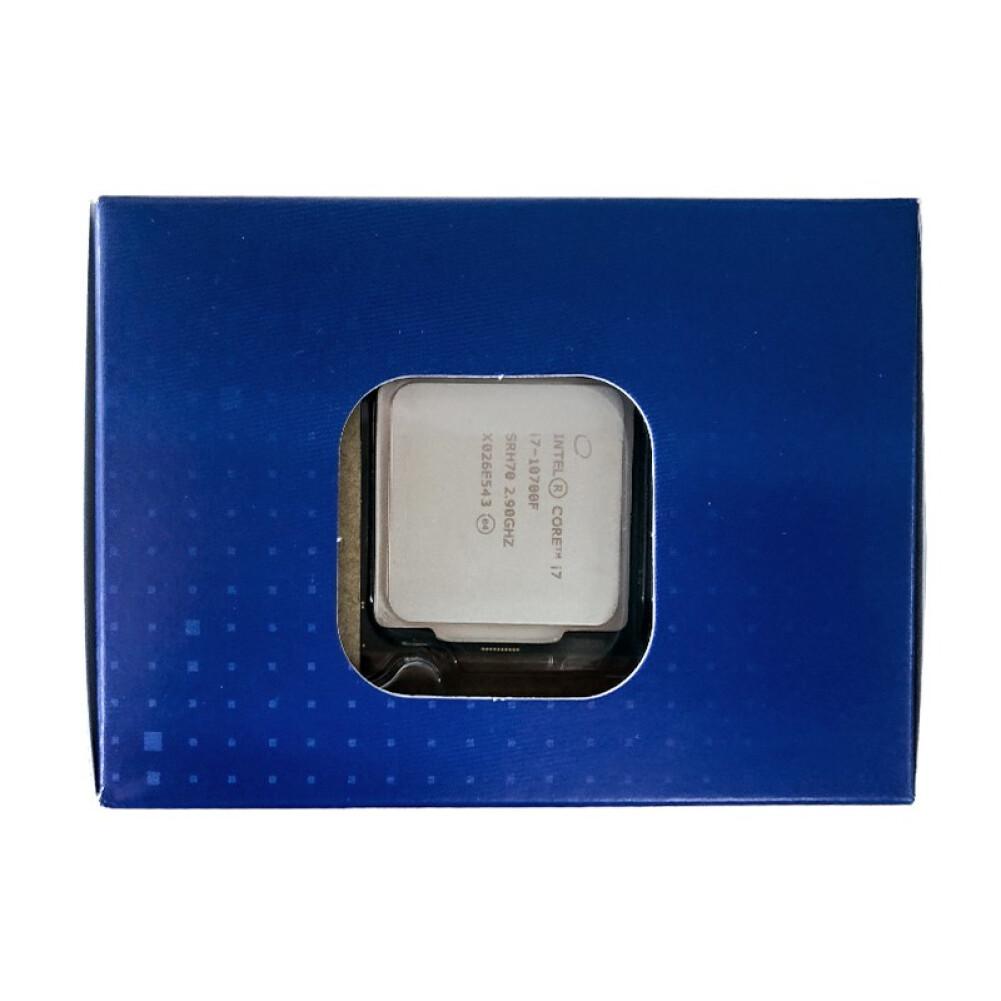 cpus-processors Intel i7-10700F 8-Core 16-Thread Boxed CPU Desktop Processor SKU 100013163656 3 1