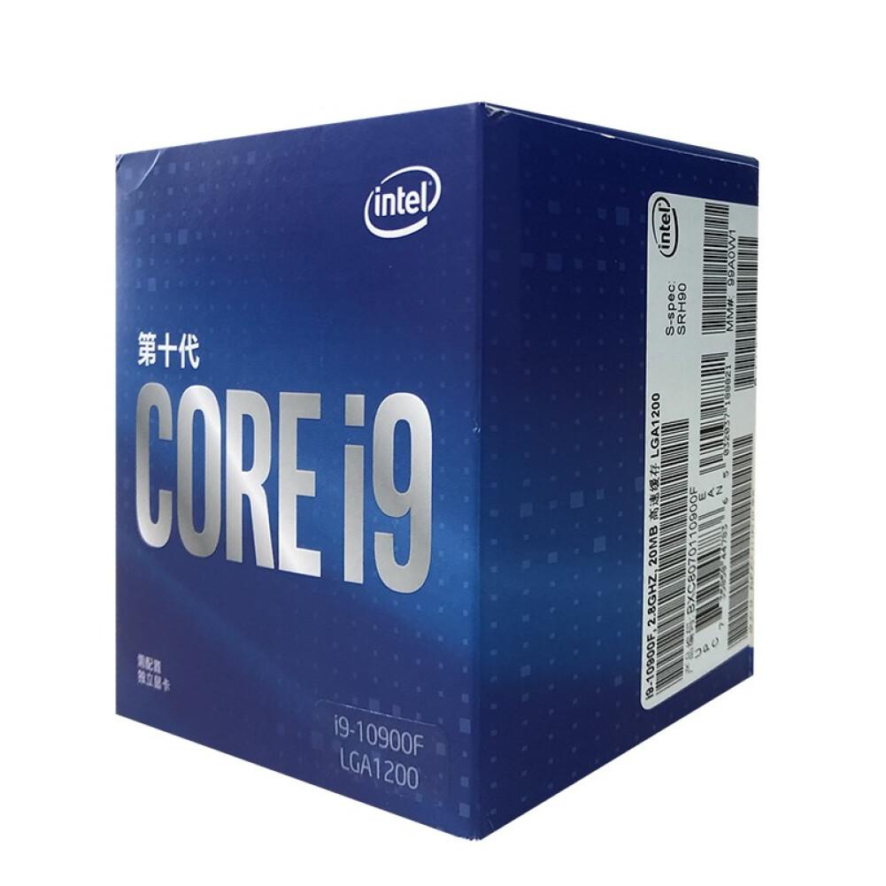 cpus-processors Intel i9-10900F 10-Core 20-Thread Boxed CPU Desktop Processor SKU 100013163658 3 1