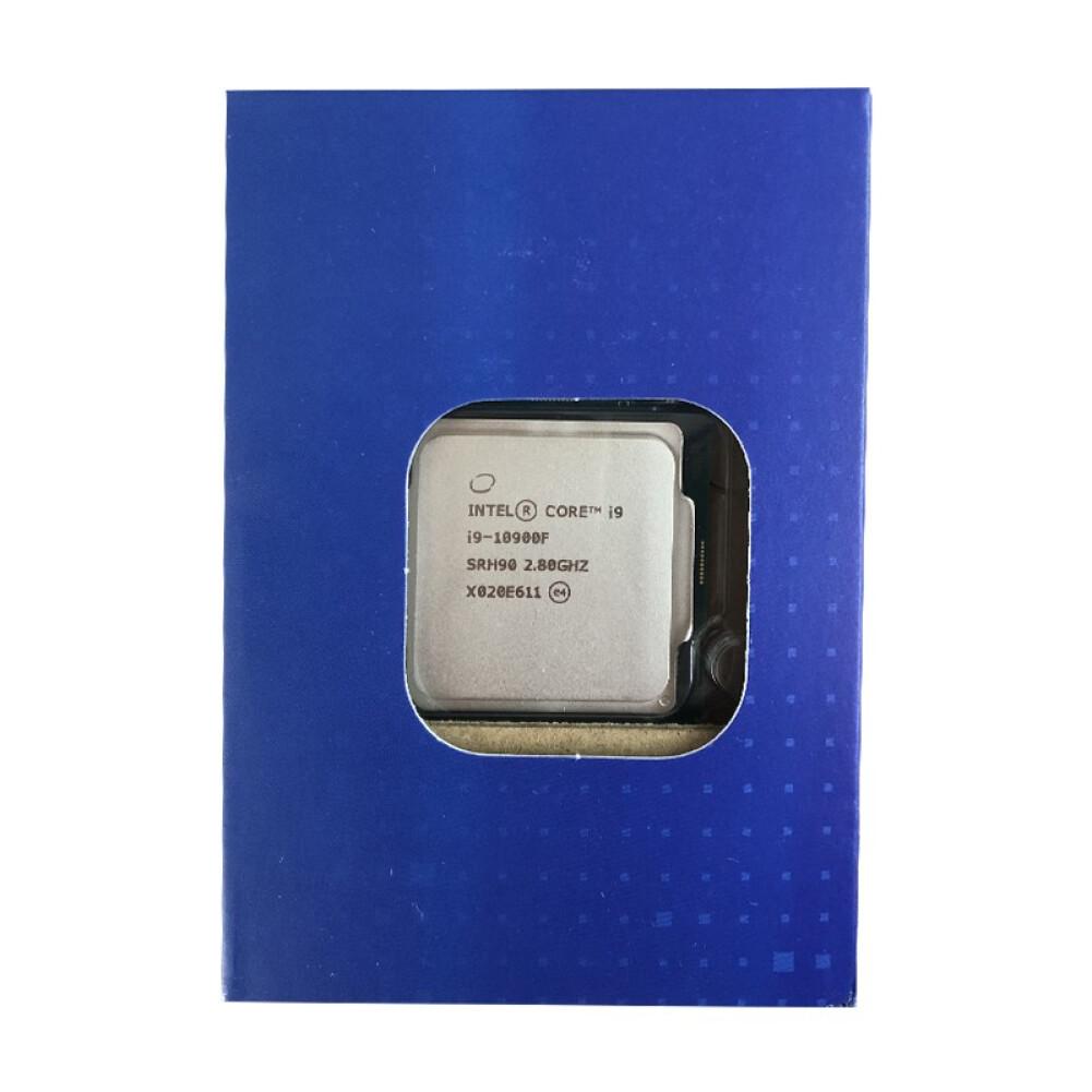 cpus-processors Intel i9-10900F 10-Core 20-Thread Boxed CPU Desktop Processor SKU 100013163658 4 1