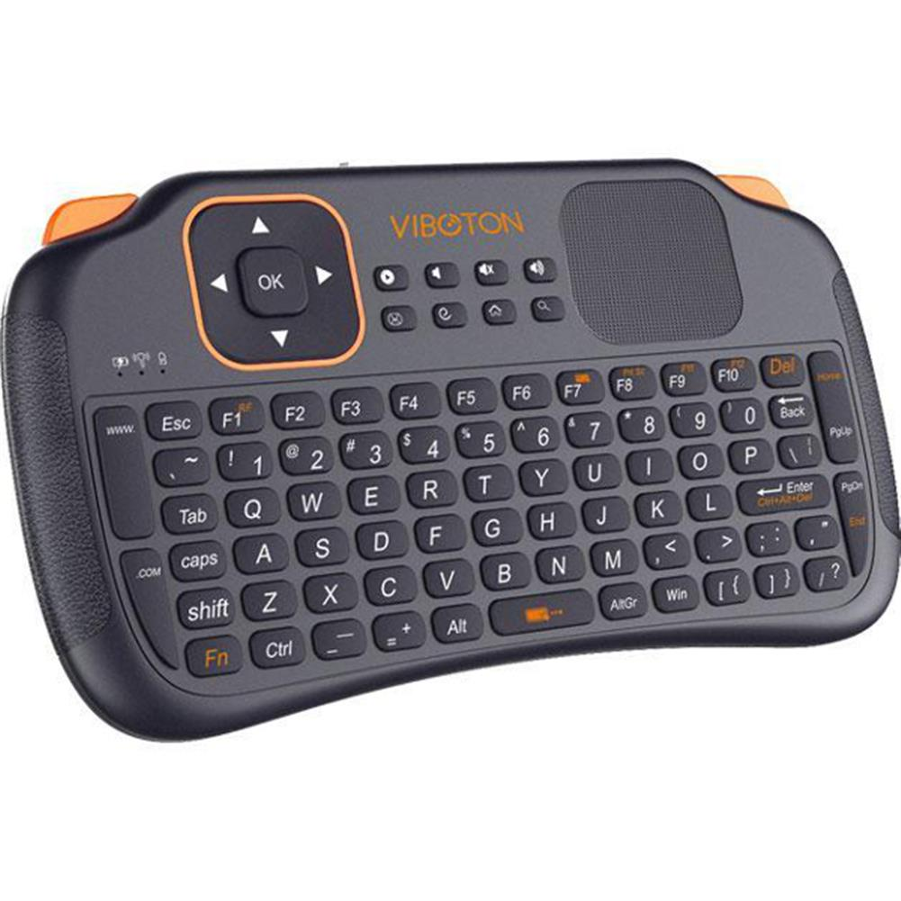 keyboards VIBOTON S1 Mini 2.4GHz Wireless Smart Keyboard Air Mouse for Mini PC Android TV HTPC HOB1006422 1
