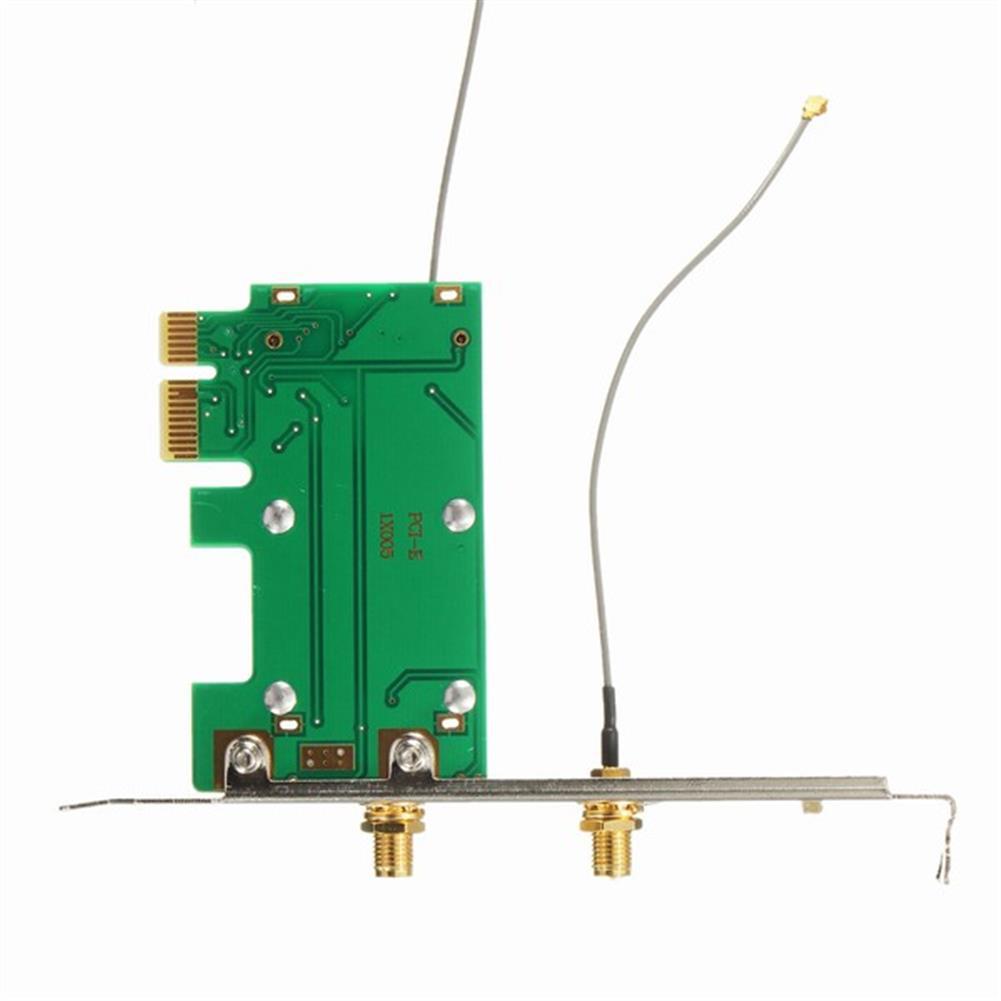 pci-cards Mini WiFi Wan 802.11n PCI-e to PCI-e Wireless Expansion Card Adapter Convertor HOB1013592 1 1