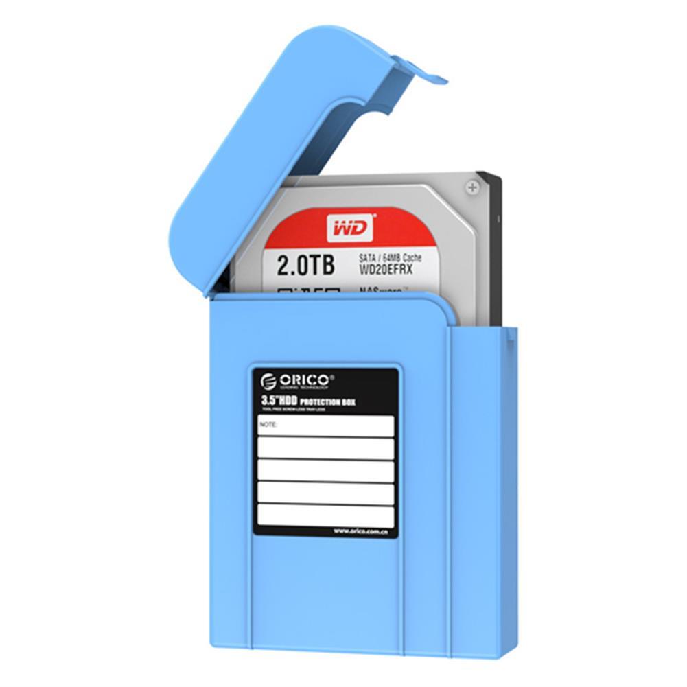 hdd-ssd-enclosures ORICO PHI-35 3.5inch HDD Protector Box Dustproof Case HDD Enclosure HDD Storage Box HOB1032080 1
