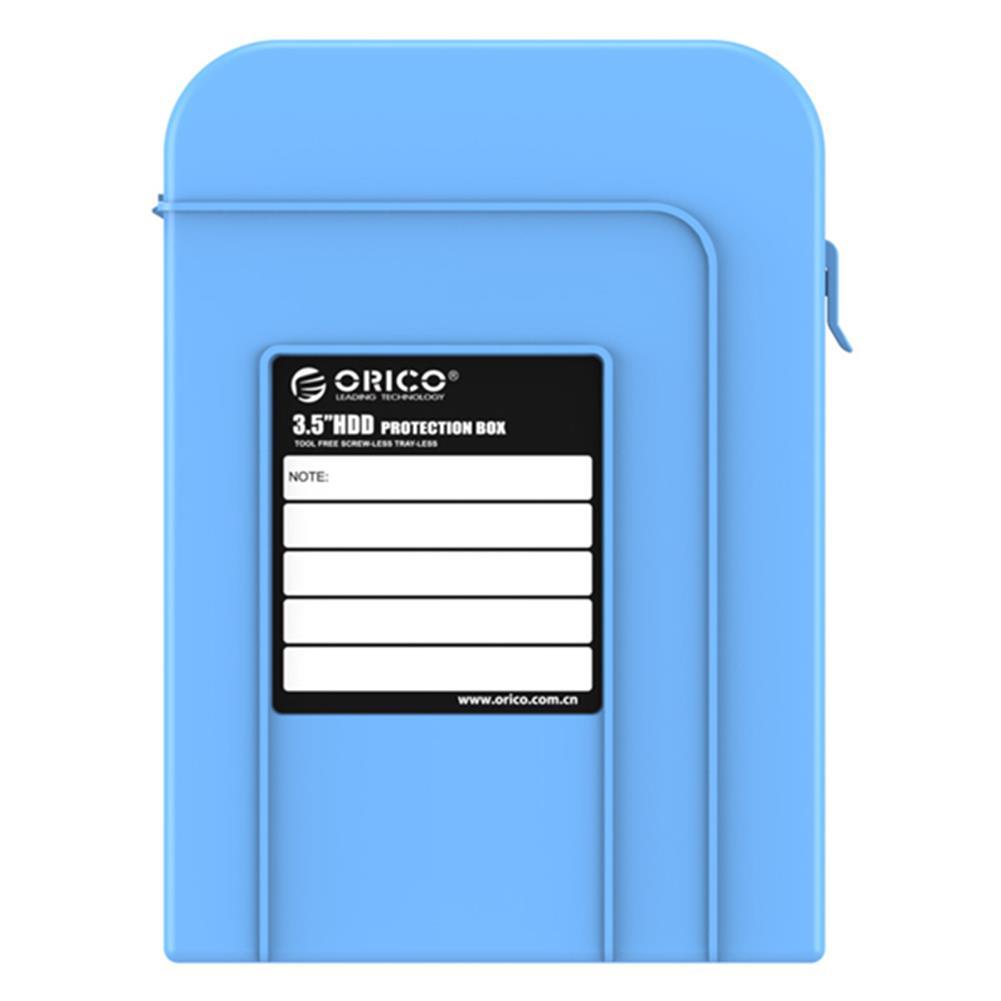 hdd-ssd-enclosures ORICO PHI-35 3.5inch HDD Protector Box Dustproof Case HDD Enclosure HDD Storage Box HOB1032080 1 1