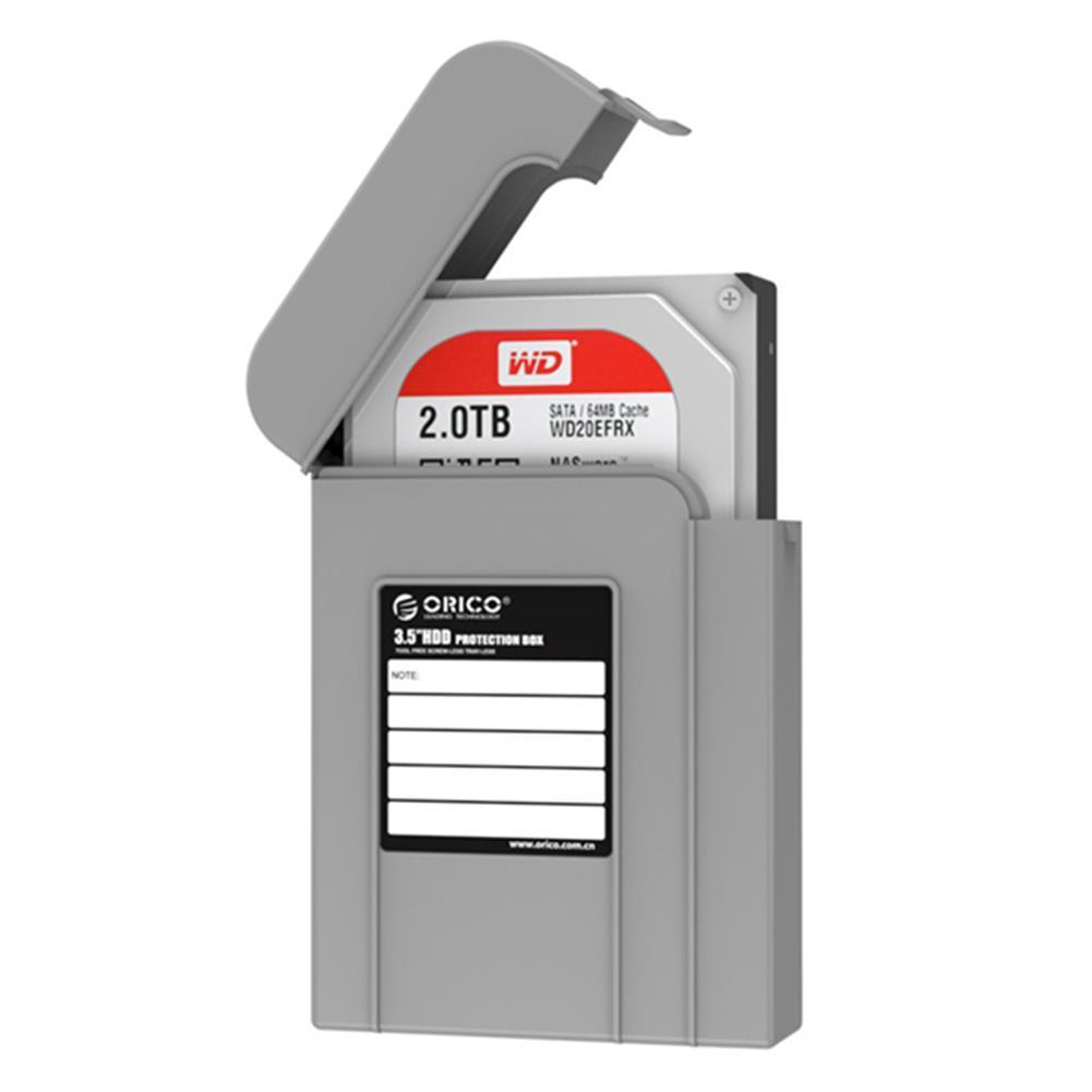 hdd-ssd-enclosures ORICO PHI-35 3.5inch HDD Protector Box Dustproof Case HDD Enclosure HDD Storage Box HOB1032080 3 1