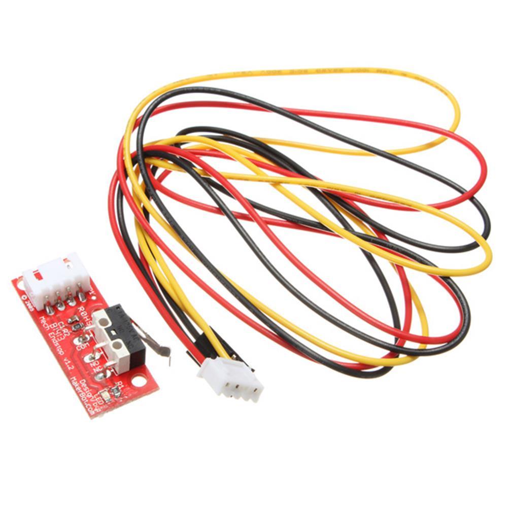 3d-printer-accessories 10Pcs Geekcreit RAMPS 1.4 Endstop Switch for RepRap Mendel 3D Printer with 70cm Cable HOB1054554 1 1