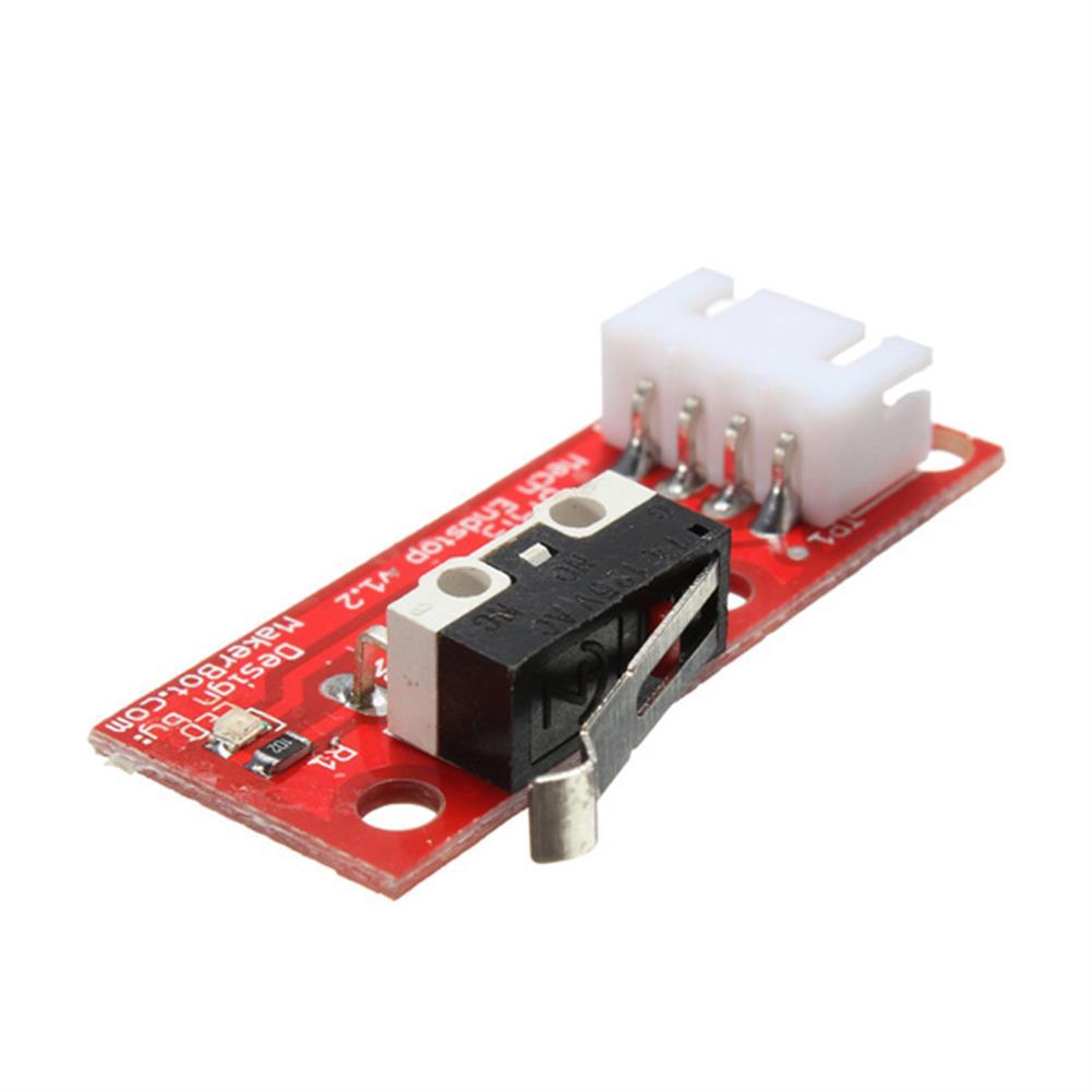 3d-printer-accessories 5Pcs Geekcreit RAMPS 1.4 Endstop Switch for RepRap Mendel 3D Printer with 70cm Cable HOB1054555 1 1