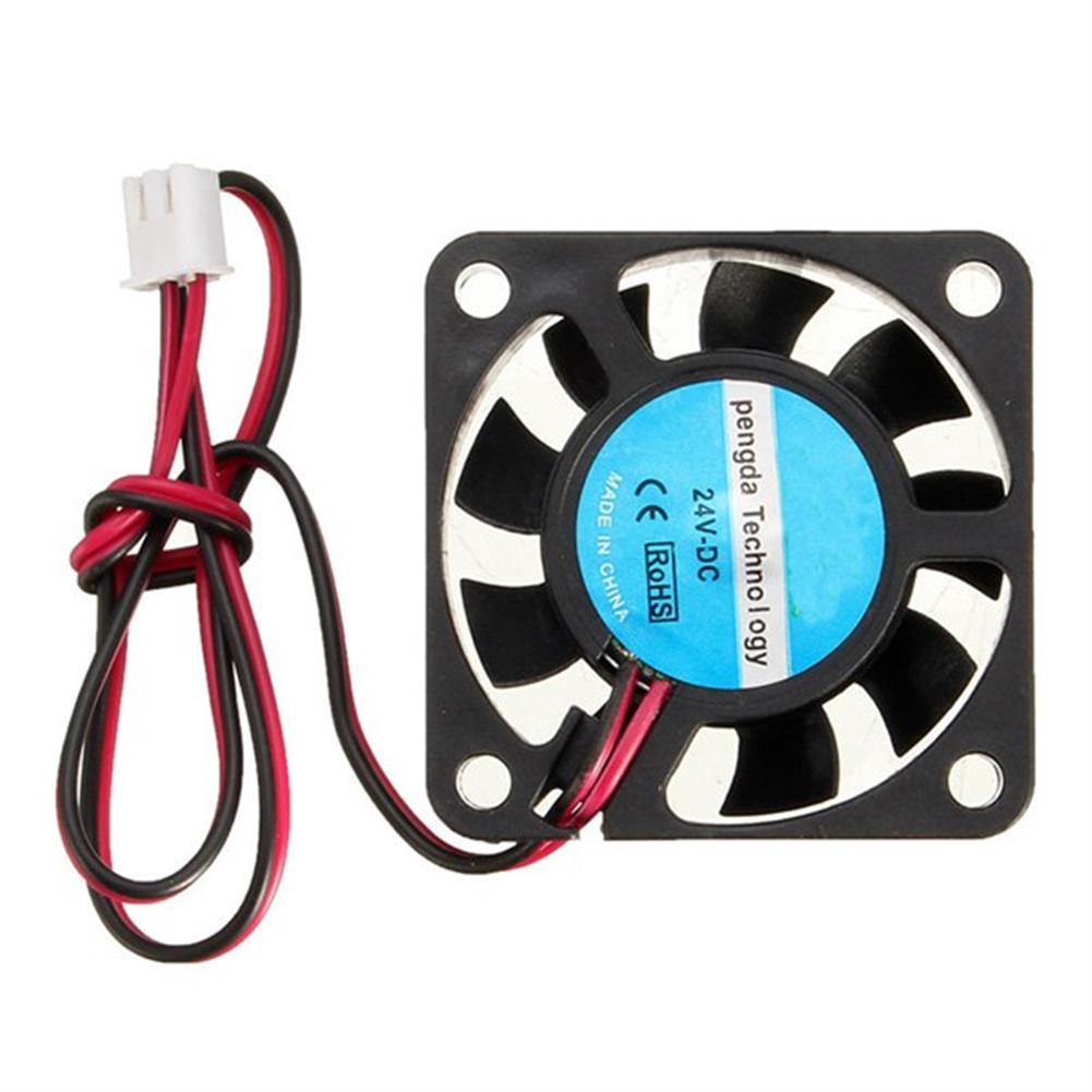 3d-printer-accessories 24V DC 40mm Cooling Fan for RepRap 3D Printer Hot End Extruder HOB1067525 1