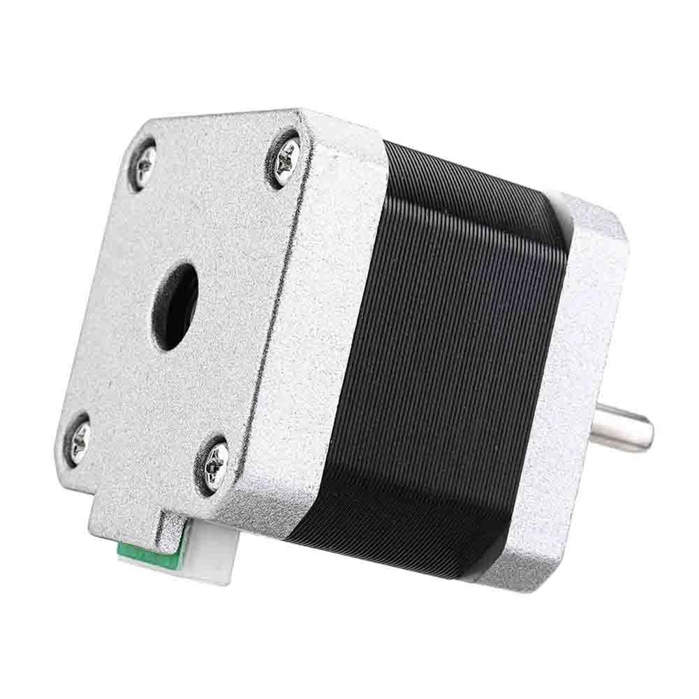 3d-printer-accessories Geeetech Nema17 Stepper Motor with Skidproof Shaft 4 Wire 2-phase 1.8 for 3D Printer RepRap HOB1074641 3 1
