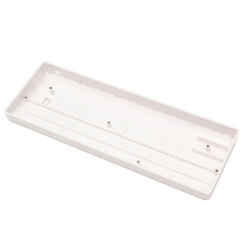 keycaps-switches 60% DIY White Mechanical Keyboard Universal Frame Plastic Case for GH60 Poker HOB1077445 1 1