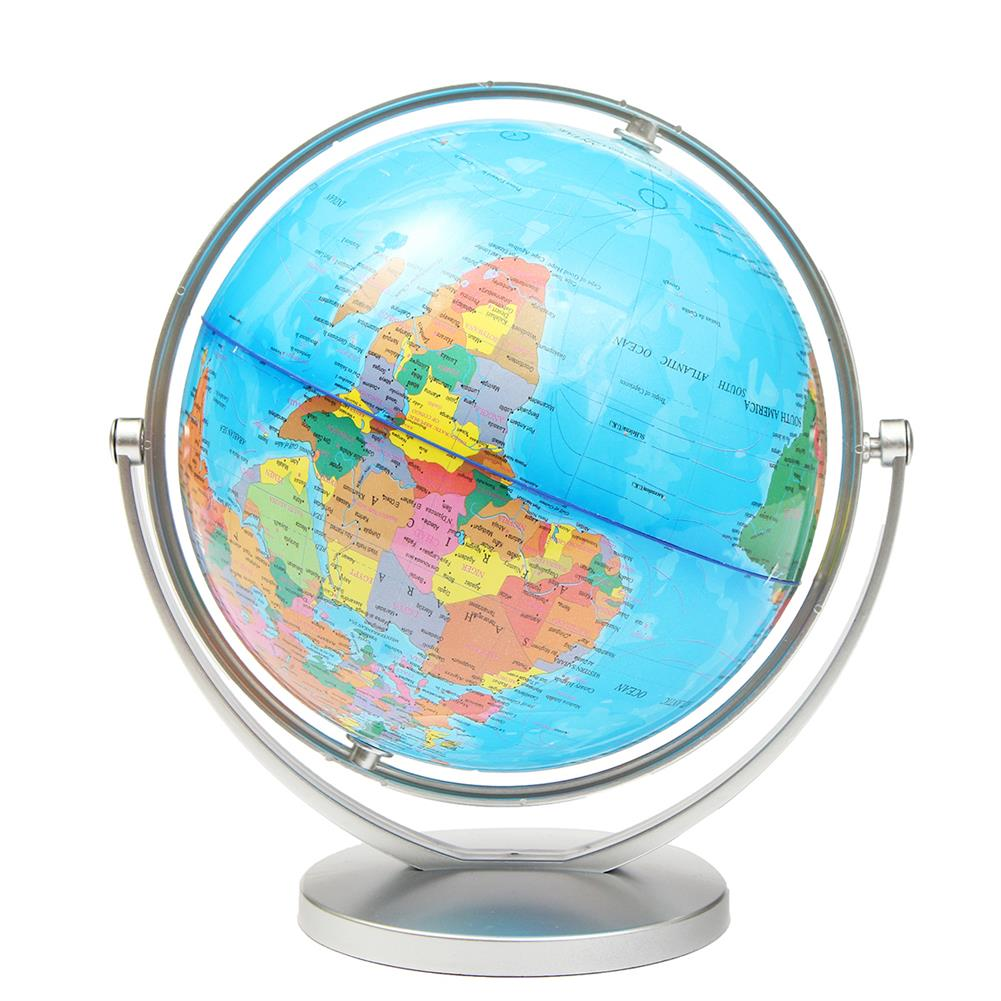desktop-off-surface-shelves World Globe Earth Ocean Atlas Map with Rotating Stand Geography Educational Desktop Decorations HOB1115328 1