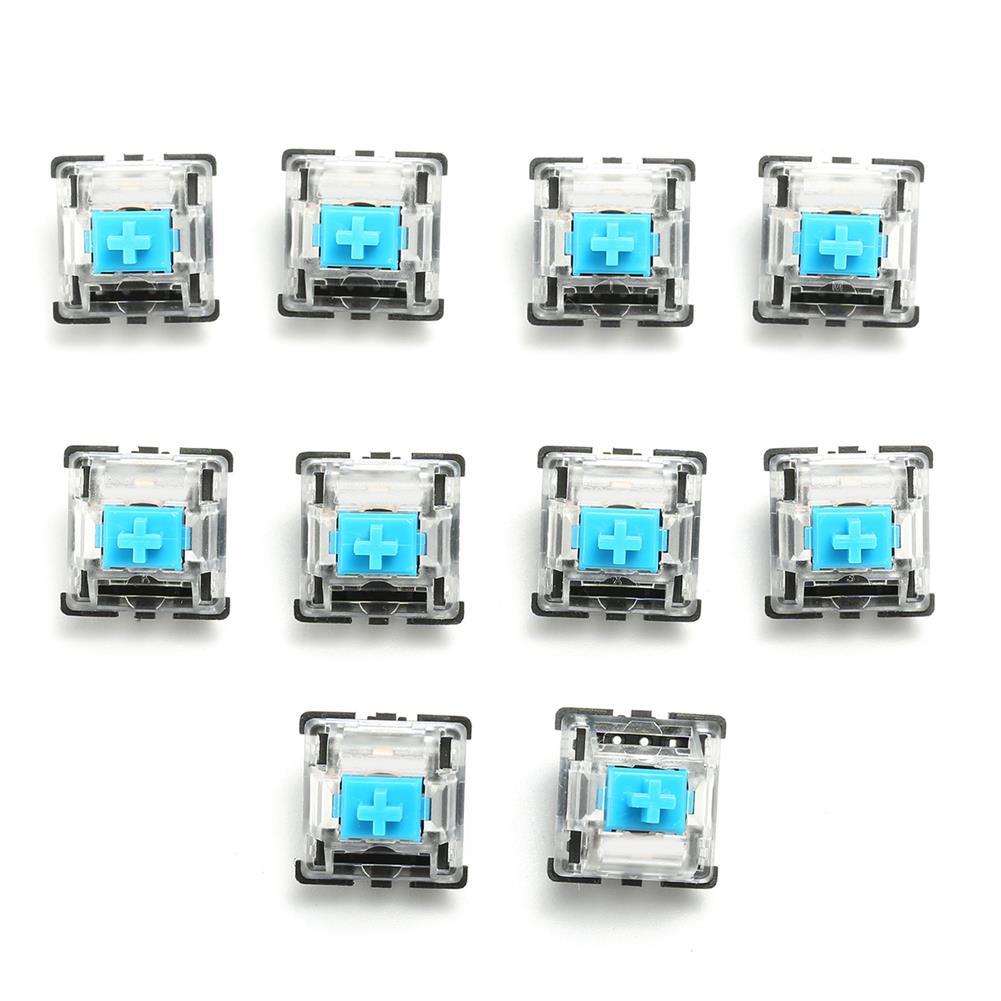 keycaps-switches 10PCS 3 Pin Mechanical Keyboard Switch Blue Switch HOB1119472 1 1