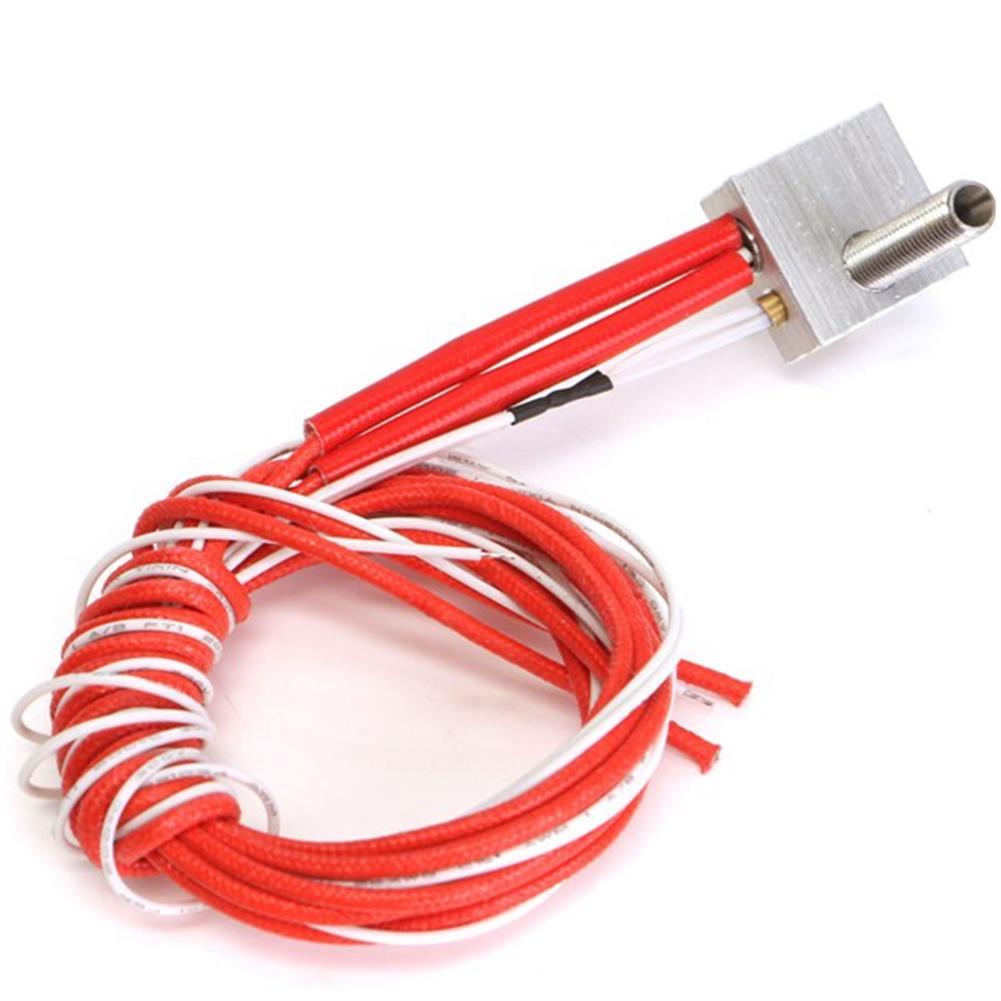 3d-printer-accessories 3Pcs Assembled Aluminum Hot End Heating Block Extruder for 3D Printer HOB1122454 1