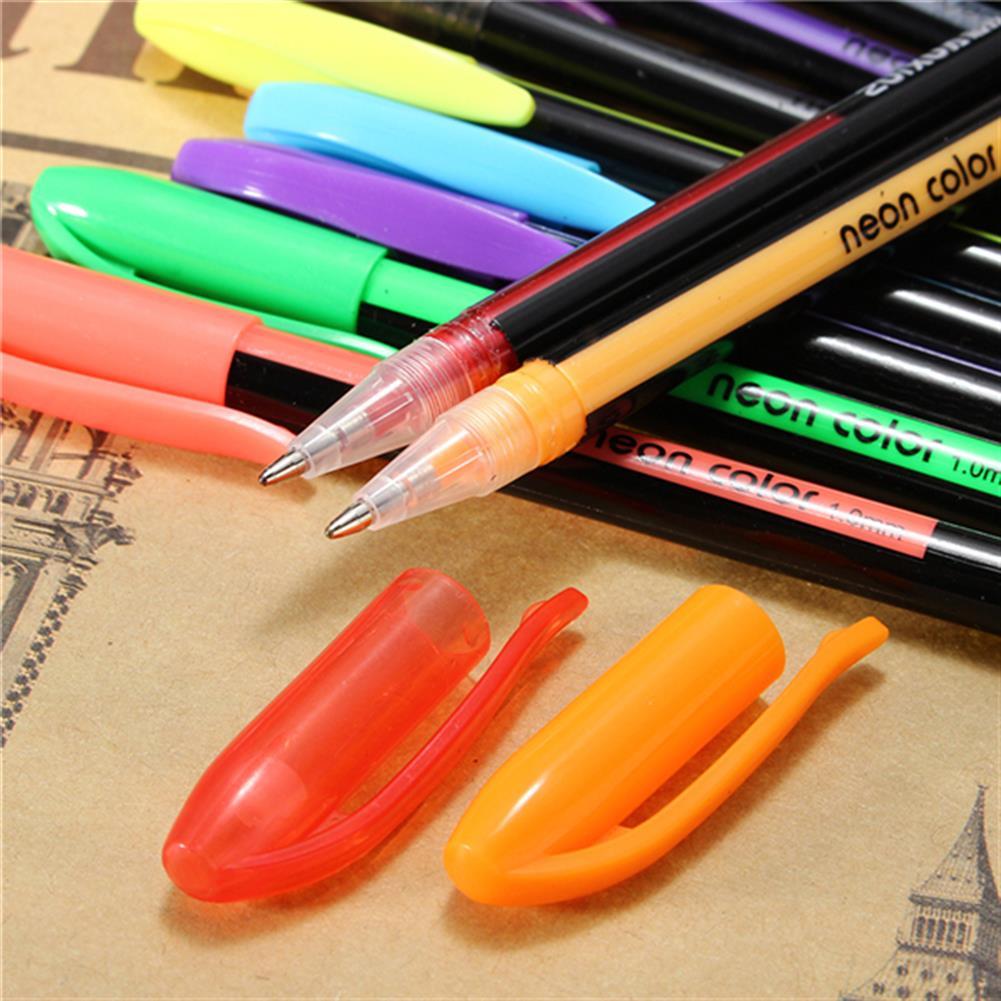 gel-pen 24 Pcs Color Gel Pen Set Adult Coloring Book ink Pen Drawing Painting Craft Art for School Home HOB1122994 3 1