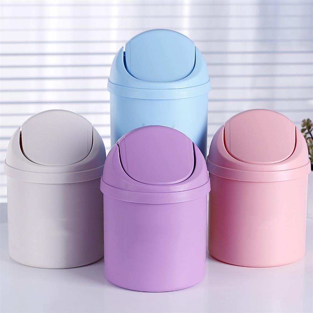 desktop-off-surface-shelves Mini Waste Bin Desktop Garbage Basket Home Table Trash Can Dustbin Container HOB1126397 1 1