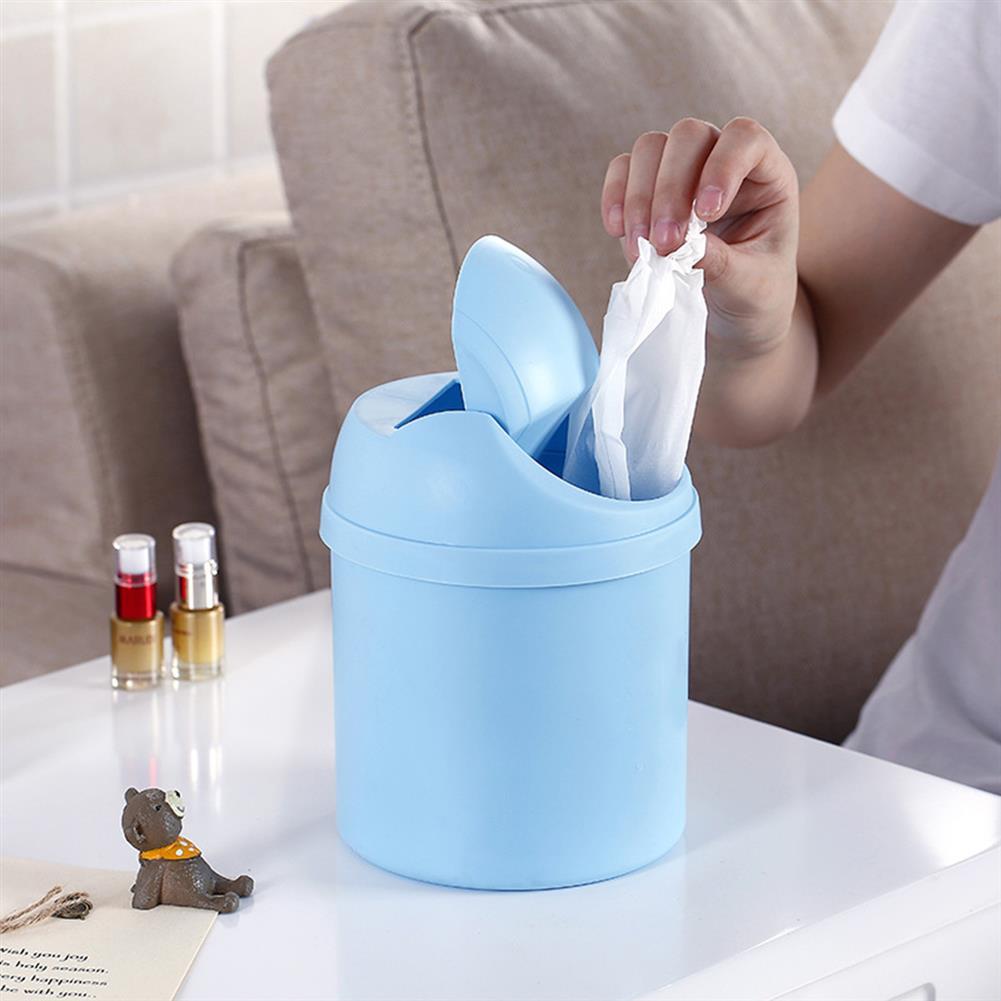desktop-off-surface-shelves Mini Waste Bin Desktop Garbage Basket Home Table Trash Can Dustbin Container HOB1126397 3 1