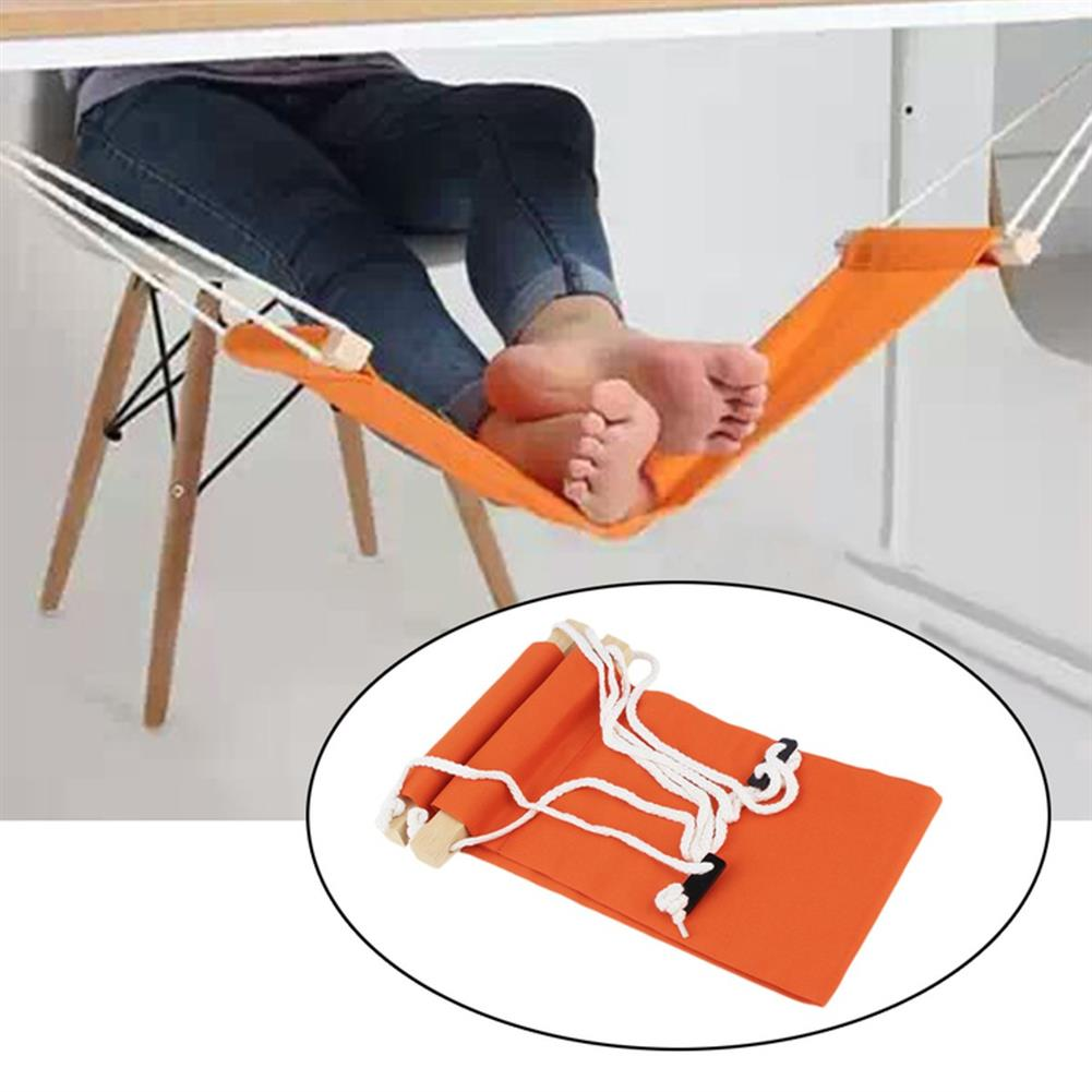 other-learning-office-supplies Portable Adjustable Mini Feet Hammock Comfort Footrest Stand Under Desk Foot Hammock Home office Gifts HOB1131377 2 1