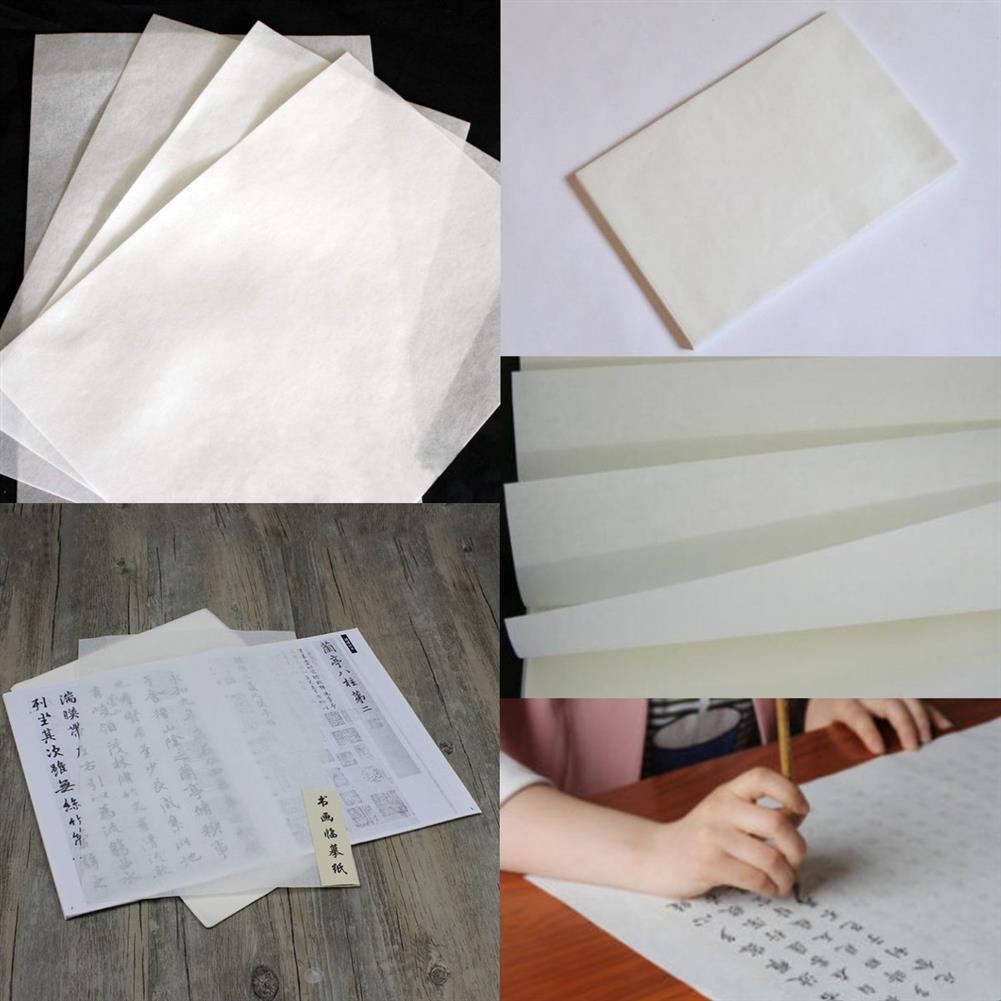 paper-notebooks 10 Sheets Chinese Calligraphy Rice Xuan Paper Sumi-e Drawing High ink Absorption HOB1138759 1