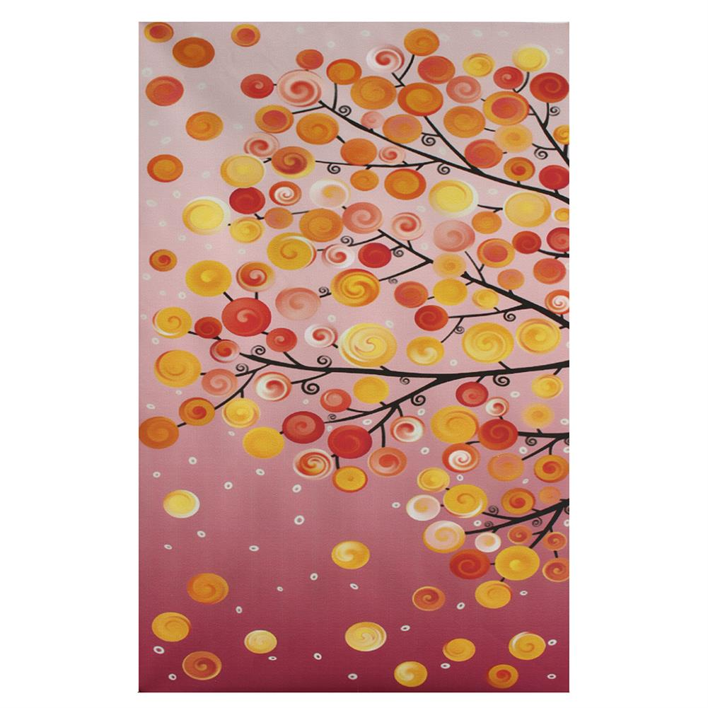 other-learning-office-supplies 4pcs Canvas Wall Art Painting 40*60cm Hanging Pictures Season Trees Living Hall Decoration Supplies no Frame HOB1139085 1 1