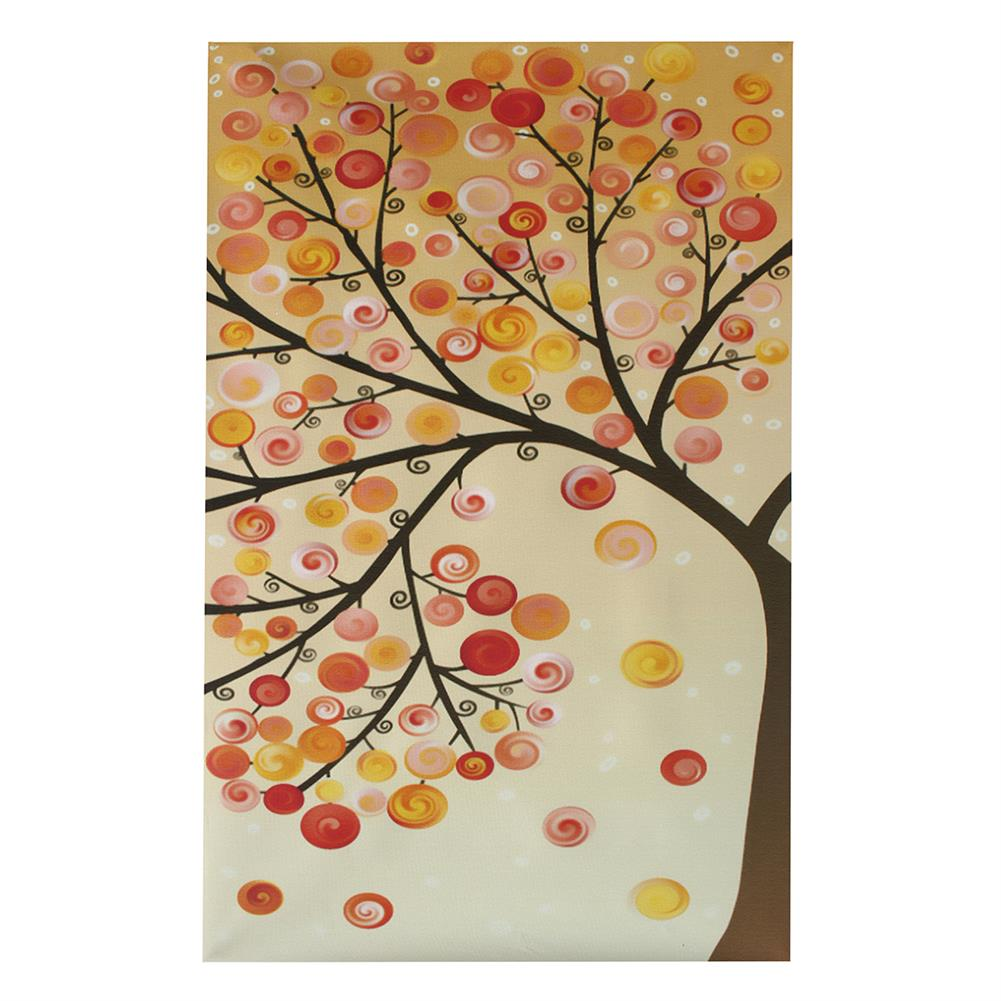 other-learning-office-supplies 4pcs Canvas Wall Art Painting 40*60cm Hanging Pictures Season Trees Living Hall Decoration Supplies no Frame HOB1139085 2 1