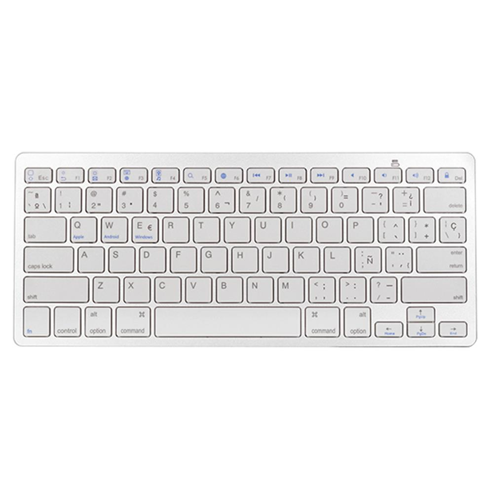 tablet-keyboards-mouses Universal Spanish Layout bluetooth Keyboard for Phone iPad Tablet HOB1169625 1
