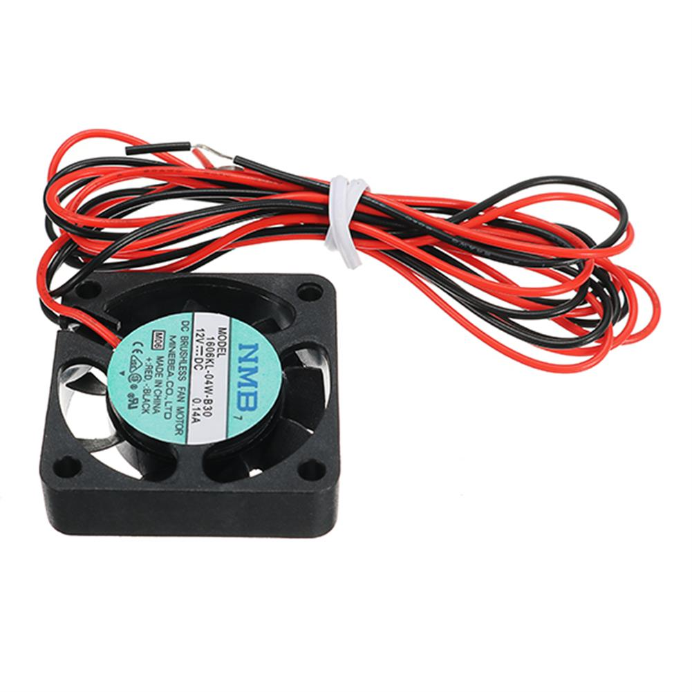 3d-printer-accessories Creality 3D 40*40*10mm 12V 0.1A High Speed Nozzle Cooling Fan for 3D Printer HOB1192406 1