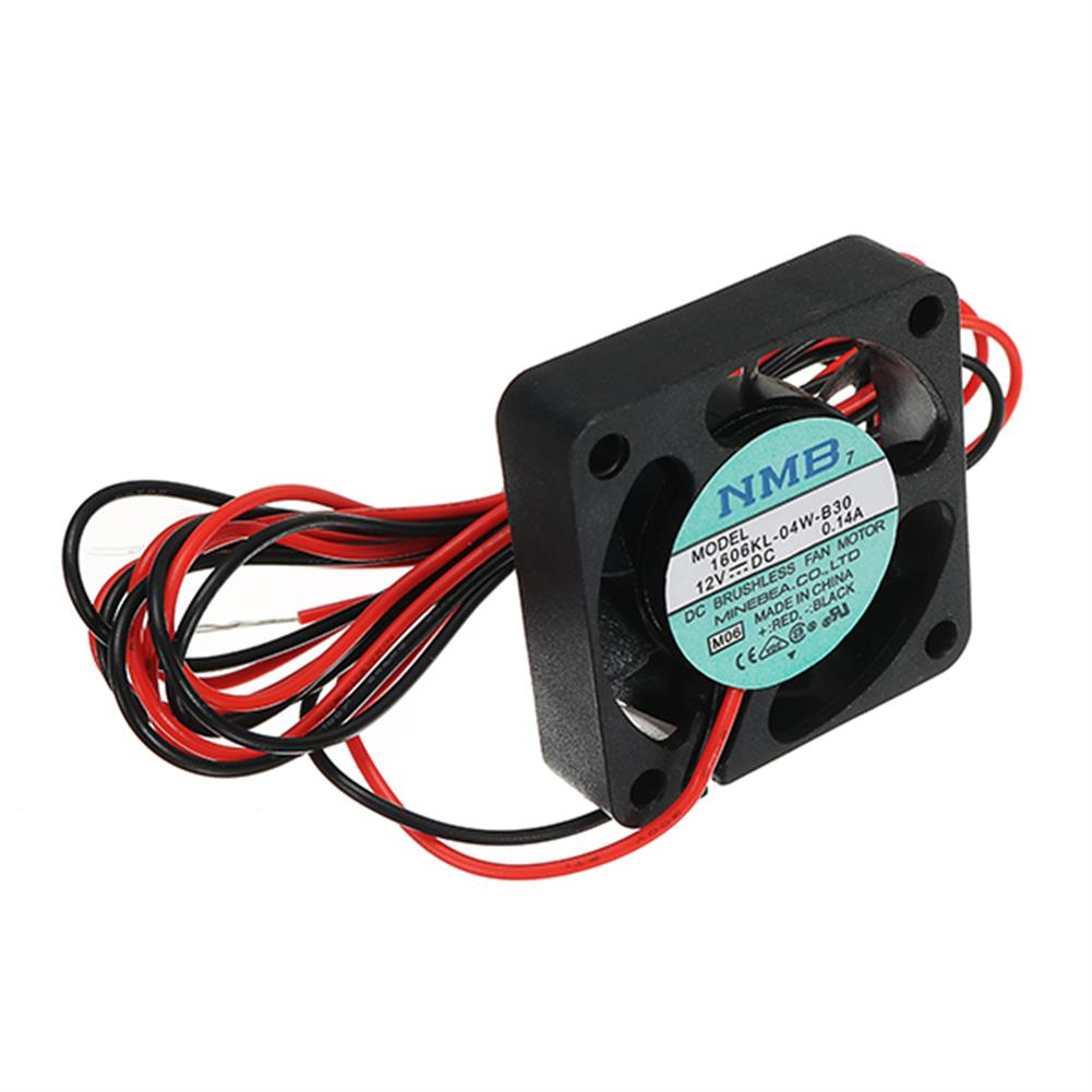 3d-printer-accessories Creality 3D 40*40*10mm 12V 0.1A High Speed Nozzle Cooling Fan for 3D Printer HOB1192406 2 1