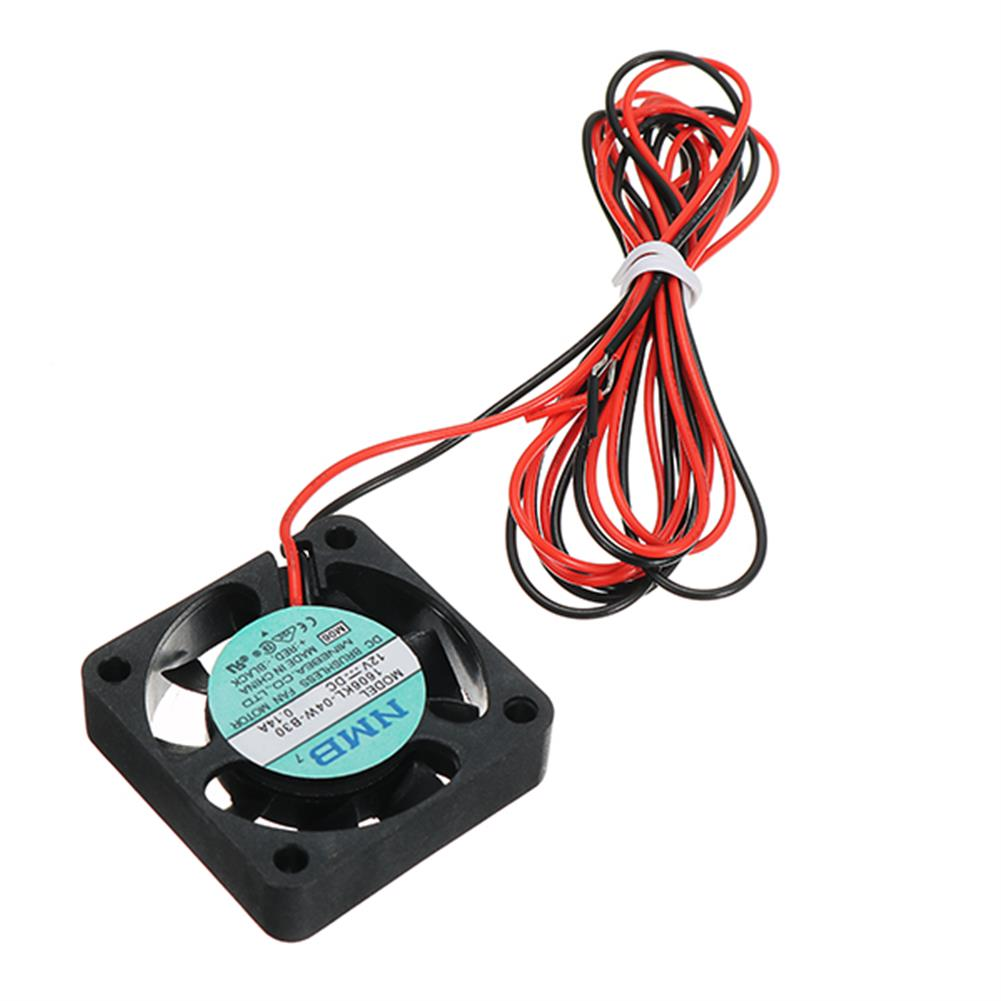 3d-printer-accessories Creality 3D 40*40*10mm 12V 0.1A High Speed Nozzle Cooling Fan for 3D Printer HOB1192406 3 1