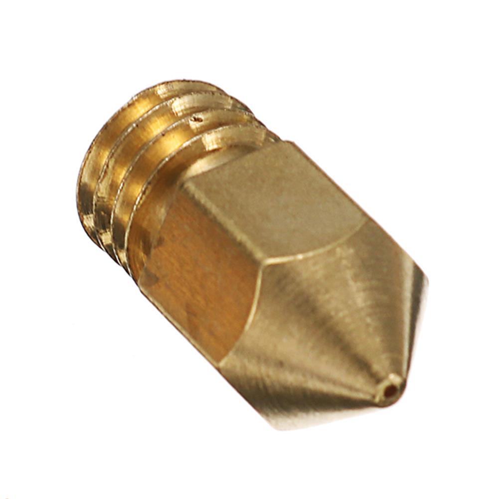 3d-printer-accessories Creality 3D 5PCS 0.3MM Copper M6 Thread Extruder Nozzle for 3D Printer HOB1192705 3 1
