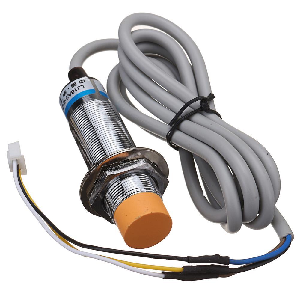 3d-printer-accessories 8mm LJ18A3-8-Z/BX Autolevel inductive Sensor for Anet A8 A2 A6 3D Printer HOB1198244 1