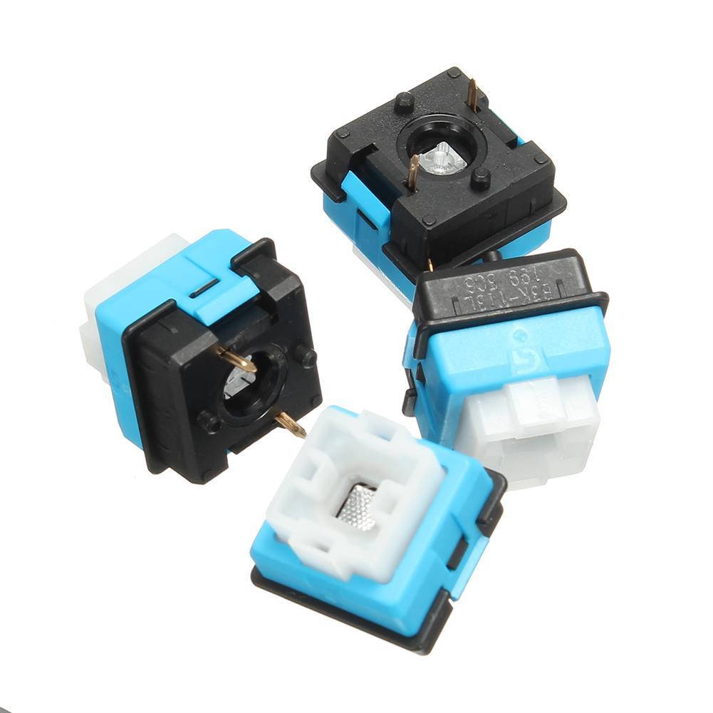 keycaps-switches 4pcs B3K-T13L Romer G Keyboard Switches for Logitech G310 G810 G910 RGB HOB1205086 1