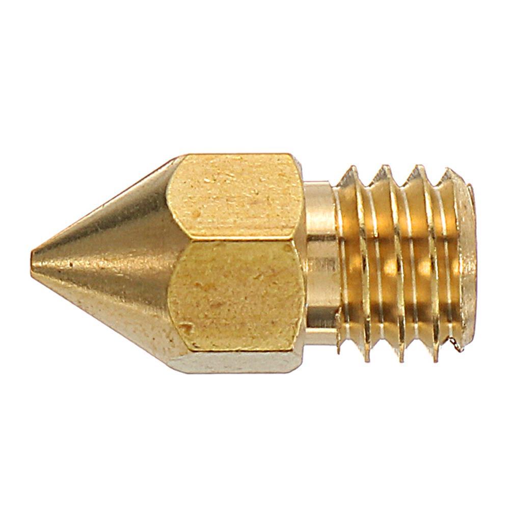 3d-printer-accessories 3PCS 1.75mm 0.4mm Copper Zortrax M200 Nozzle for 3D Printer HOB1210791 3 1