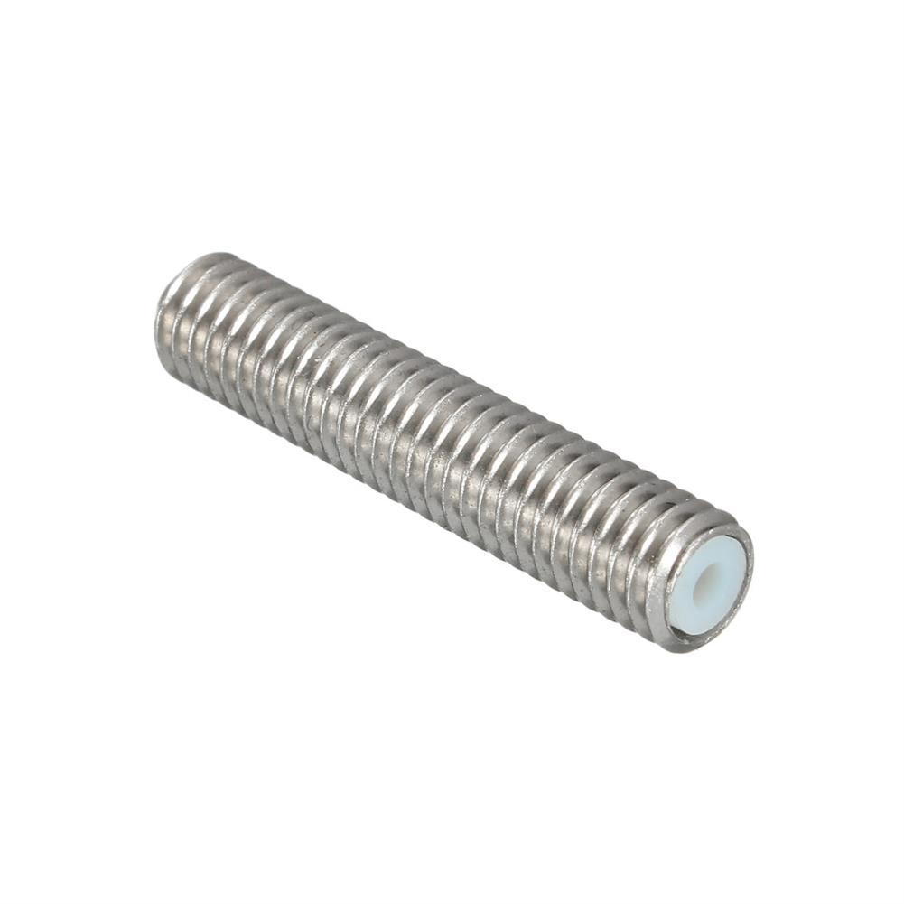 3d-printer-accessories 10PCS M6X30 1.75mm Thread Nozzle Throat with Teflon for 3D Printer Extruder Accessory HOB1211314 1 1