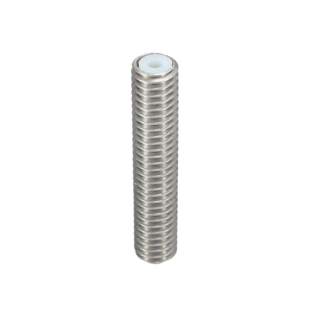 3d-printer-accessories 3PCS M6X30 1.75mm Thread Nozzle Throat with Teflon for 3D Printer Extruder Accessory HOB1211315 1